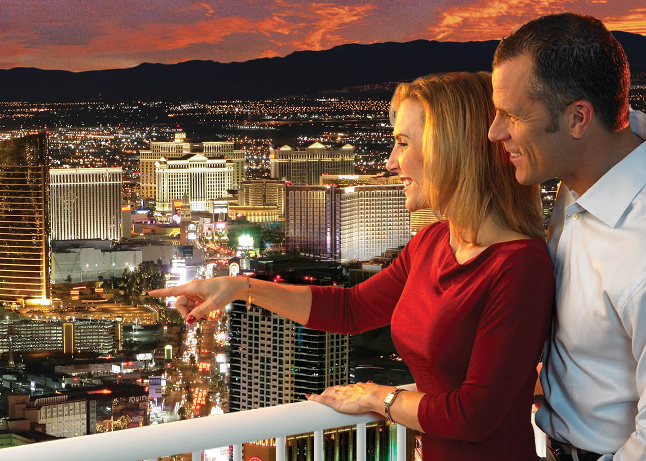 Las Vegas Stratosphere Observation Deck and Thrill Rides